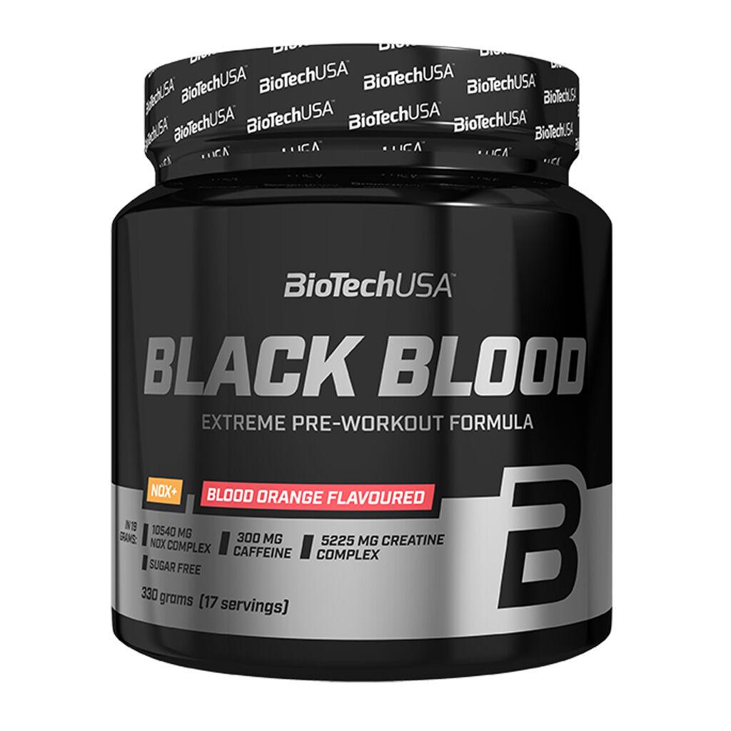 Biotech Usa Black Blood Nox+ 330 Gr Arancia Rossa
