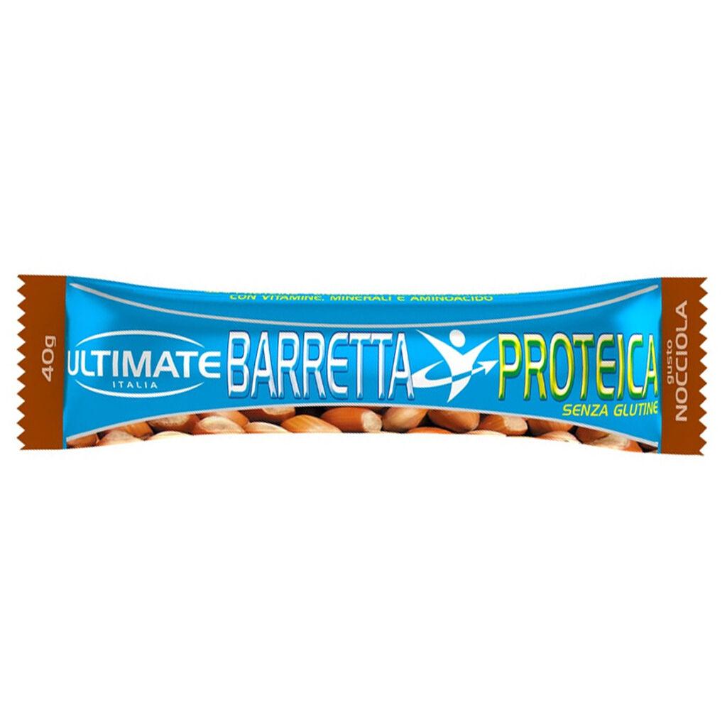 Ultimate Italia Barretta Proteica 40 Gr Nocciola