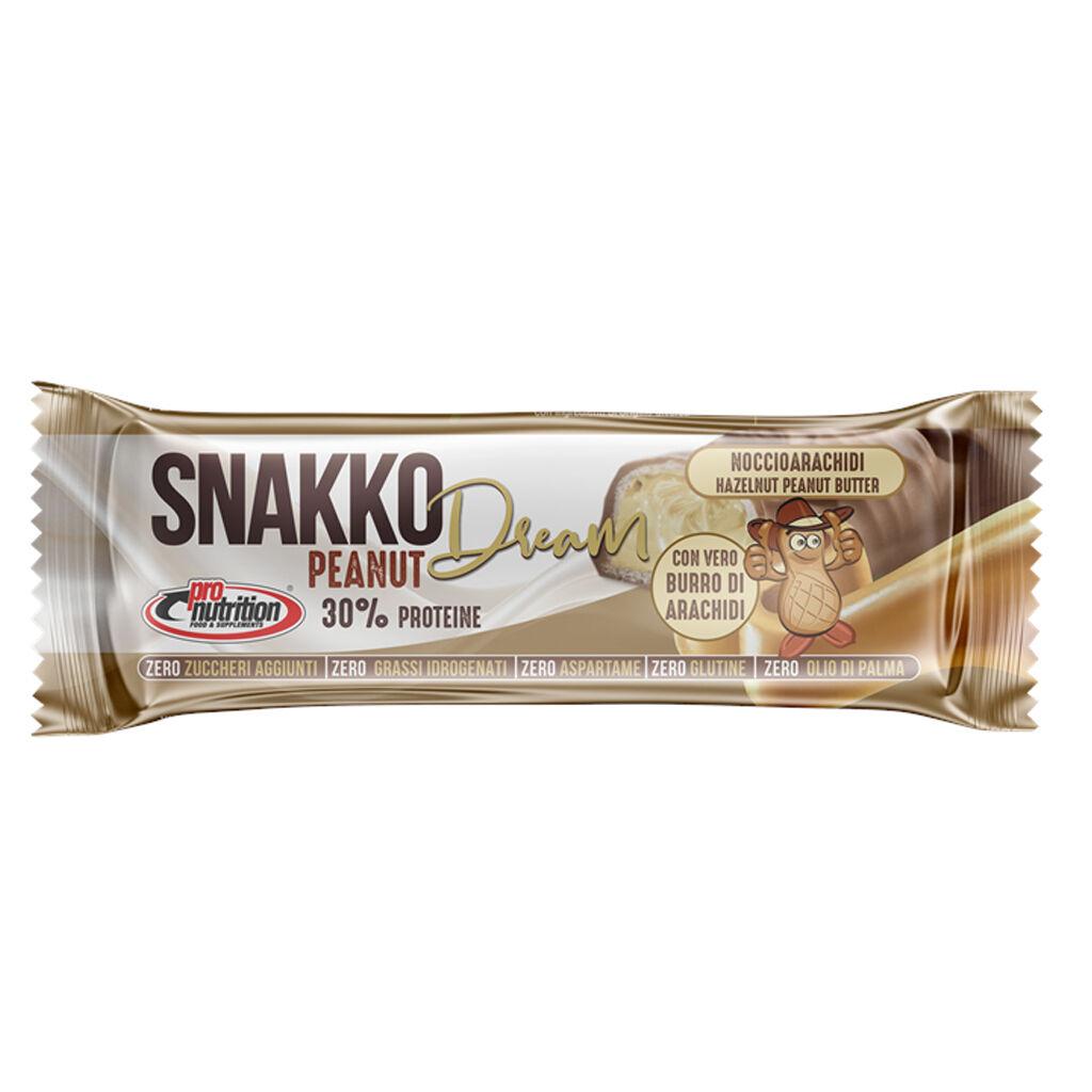 Pro Nutrition Snakko Fit 30 Gr Nocciola-Arachidi