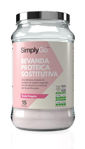 simply supplements bevanda proteica sostitutiva 600 g