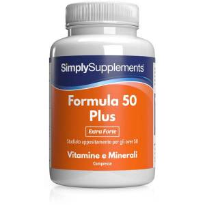Simply Supplements Formula 50 Plus   Extra Forte 360 Compresse