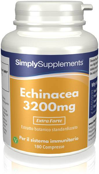 Simply Supplements Echinacea 3200 mg - 360 Compresse