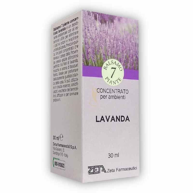 zeta farmaceutici 7 piante essenza balsamica deodorante ambientale lavanda 30ml