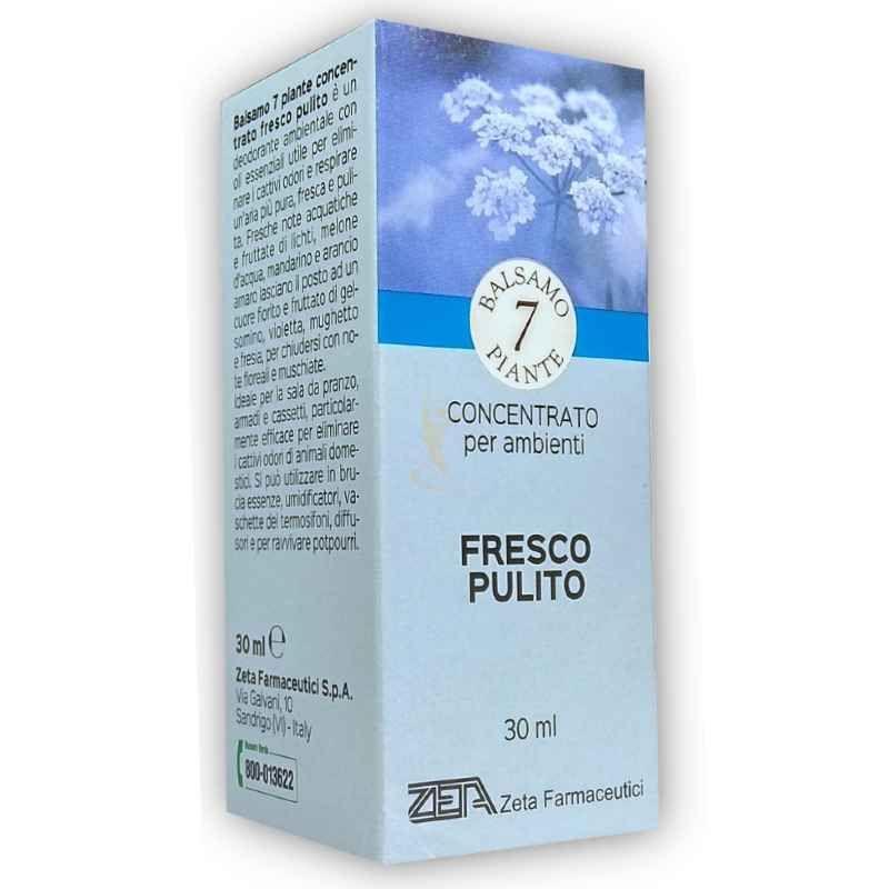 zeta farmaceutici 7 piante essenza balsamica deodorante ambientale fresco pulito 30ml