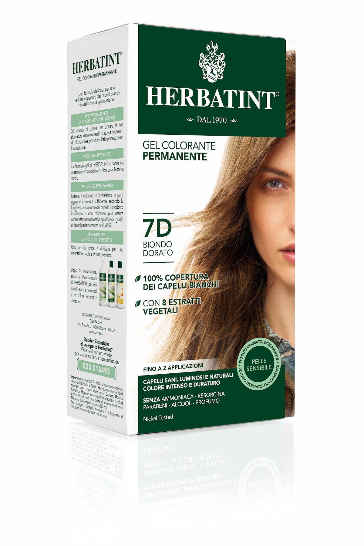 Herbatint 7D Biondo Dorato Tinta capelli