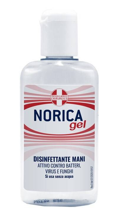 norica gel disinfettante mani 80ml