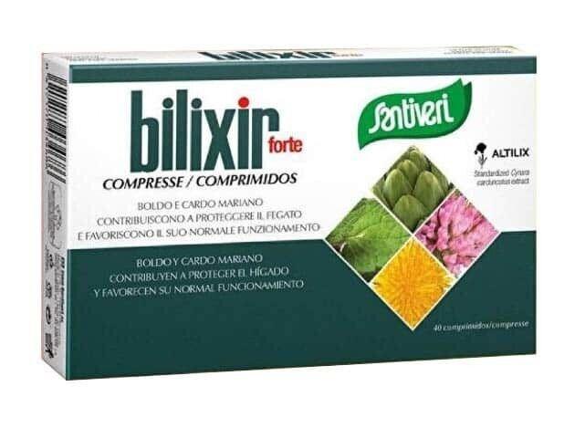 santiveri bilixir forte integratore alimentare 40 compresse
