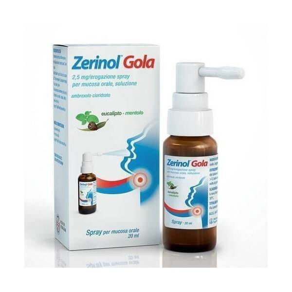 Zerinol Gola Spray 20ml