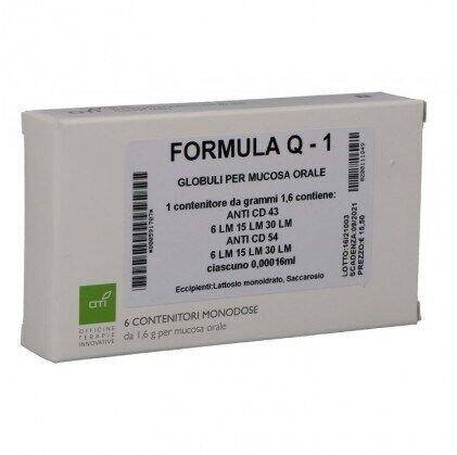 Oti Formula Q 1 6 fiale Globuli