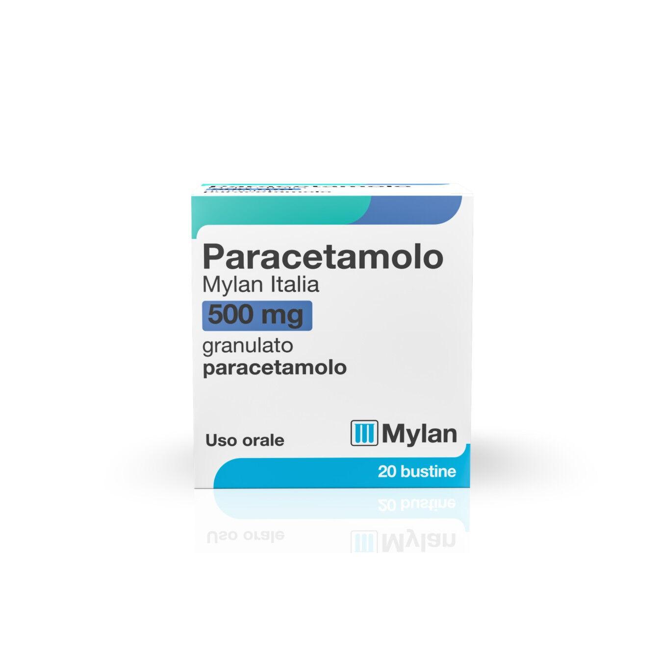 Mylan Paracetamolo 20 bustine 500mg