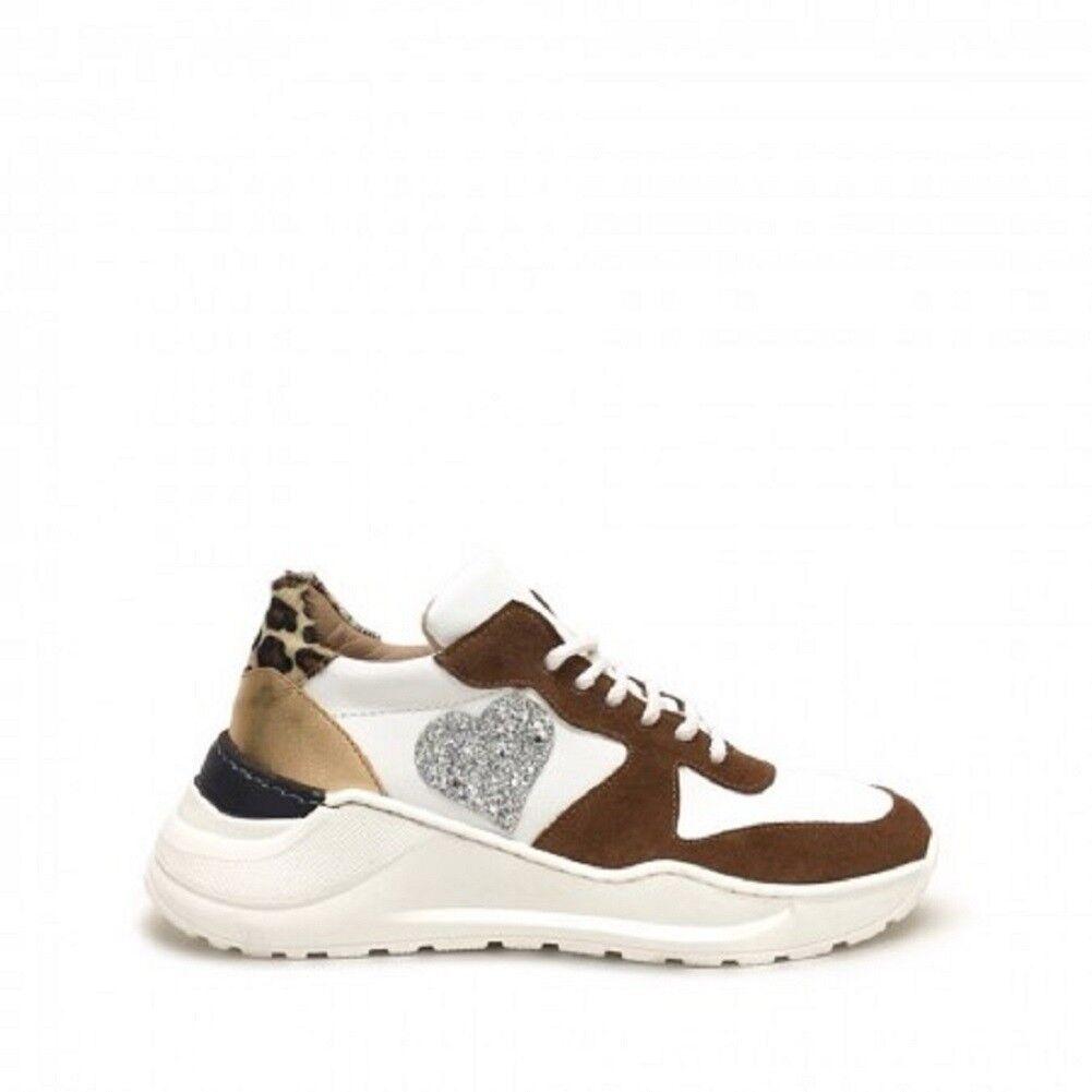 shoe gar sneakers running maculato cuore glitter
