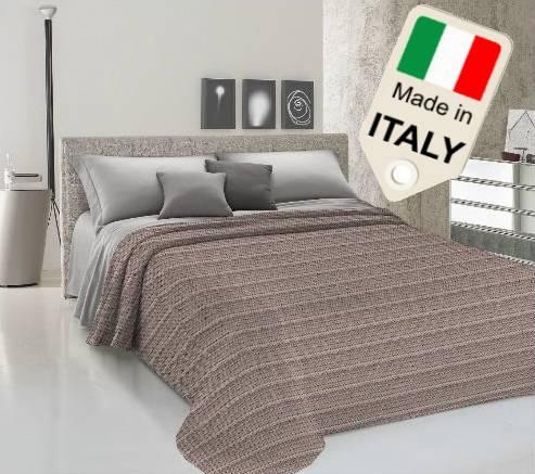 TexST Copriletto estivo primavera prodotto Italia disegno zig zag tipo Missoni