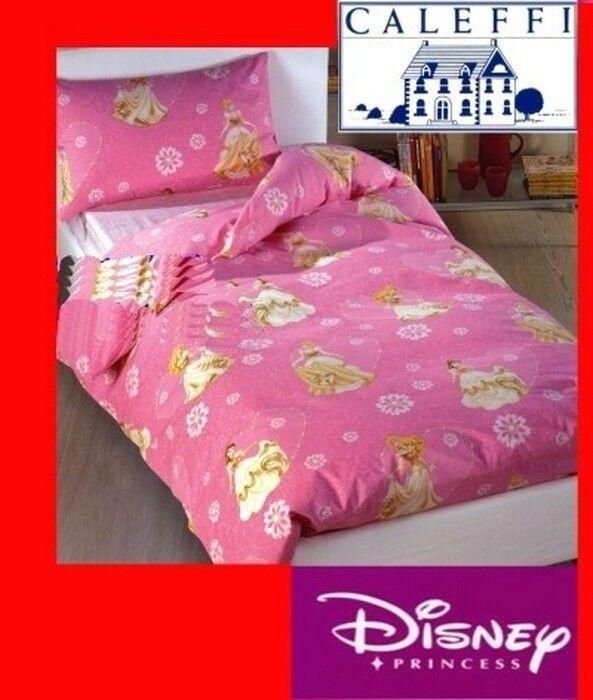 Disney Copripiumino letto singolo una piazza 150x200 CALEFFI Walt Disney Principesse