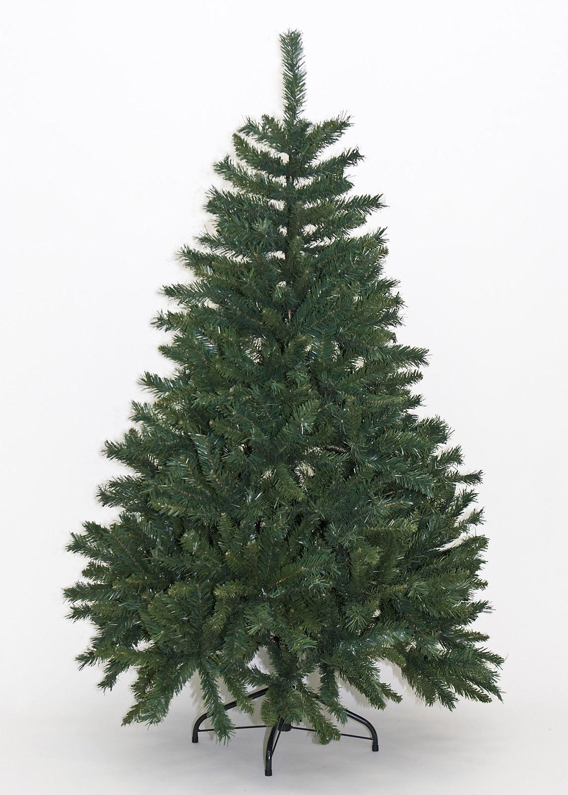 Albero Di Natale Artificiale Abete Ecologico Altezza 210 Cm Colore Verde Mod. Alpino