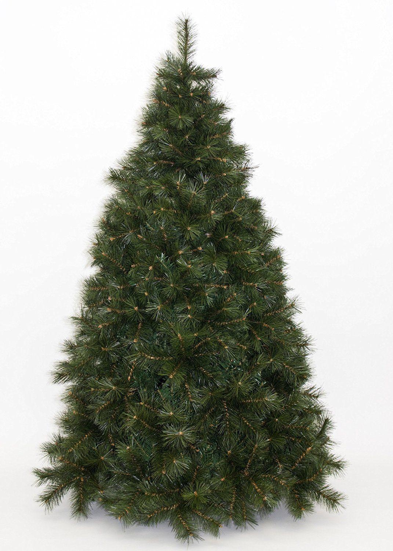 Albero Di Natale Artificiale Abete Ecologico Altezza 210 Cm Colore Verde Mod. Alaska