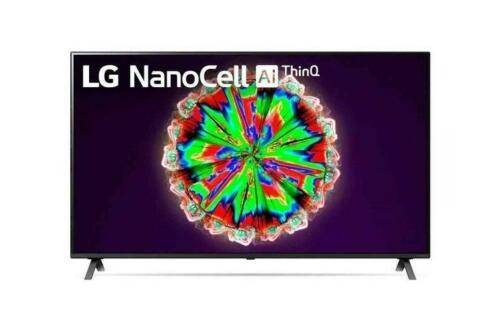 "LG Smart Tv 49"" NanoCell 4K HDR 10 Pro Wide Color Gamut 2 USB 4 HDMI Bluetooth Wifi DVB T2 49NANO813NA"
