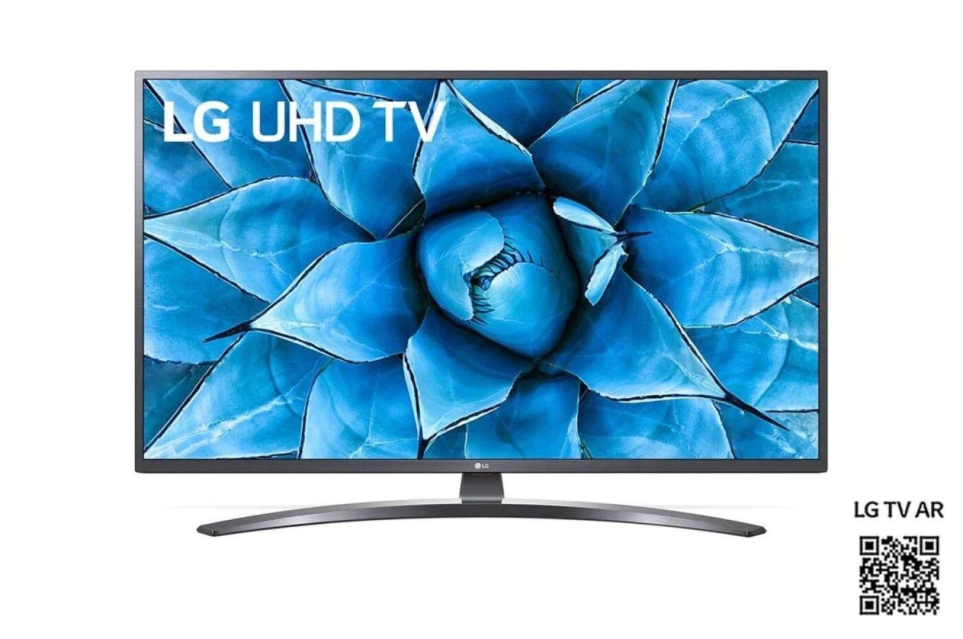 """LG Televisore Lg 43"""" Led 4k HDR 10 Pro HLG Pro Bluetooth Wifi Smart Tv 2 USB 3 HDMI Nero/Black DVB-T2 / C / S2 43UN74003"""