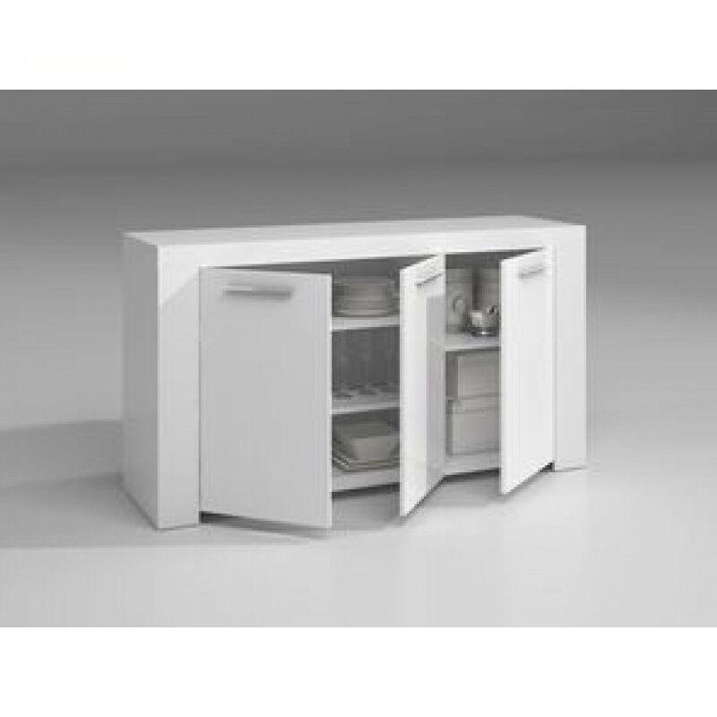 mobile credenza modera fores a tre ante modello ambit colore bianco cod: 94618