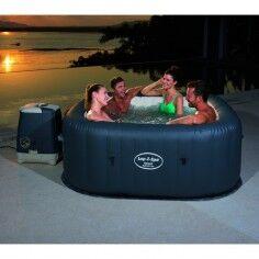 bestway piscina gonfiabile bestway fuori terra mod. hawaii (54138) con idromassaggio cm 180x180x71h cod.92005