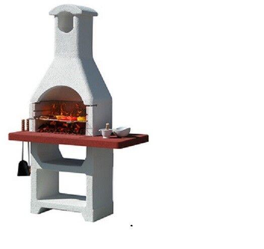 Barbecue In Muratura Da Giardino Mod.martinica Lx Cod.2331