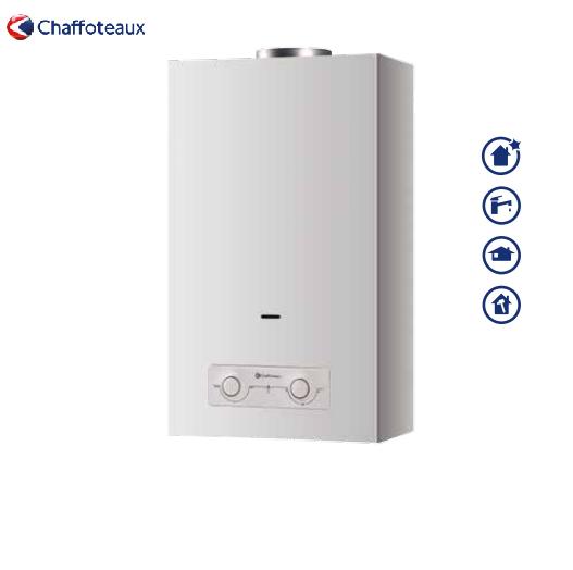 chaffoteaux scaldabagno a camera aperta istantaneo chaffoteaux mod. brd onm 14 litri a gas metano