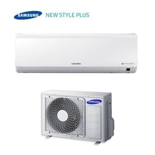 Samsung Climatizzatore Condizionatore Samsung Inverter Serie New Style Plus Ar12msfhbwkn Classe A++ 12000 Btu