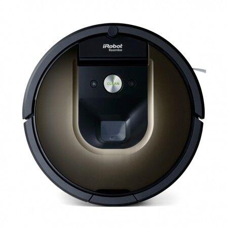 Irobot Aspirapolvere Pulitrice Irobot Roomba Rotonda Modello 980 Connessione Wi-fi E Irobot Home App