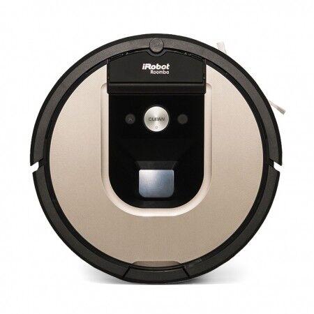 Irobot Aspirapolvere Pulitrice Irobot Roomba Rotonda Modello 966 Connessione Wi-fi E Irobot Home App