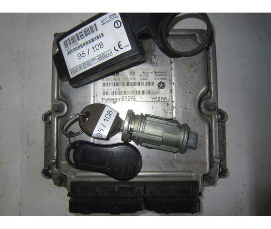 pt cruiser 95-108 kit motore chrysler 0 281 010 292 p05033032ae 28sa5574 5wy7 009b  chrysler