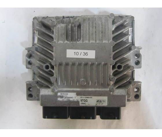 CONTINENTAL 10-36 Centralina Motore  5ws40930c-T 5ws40930ct 9t11-12a650-Gg 9t1112a650gg Sid 206 Ford Diesel Transit 1.8
