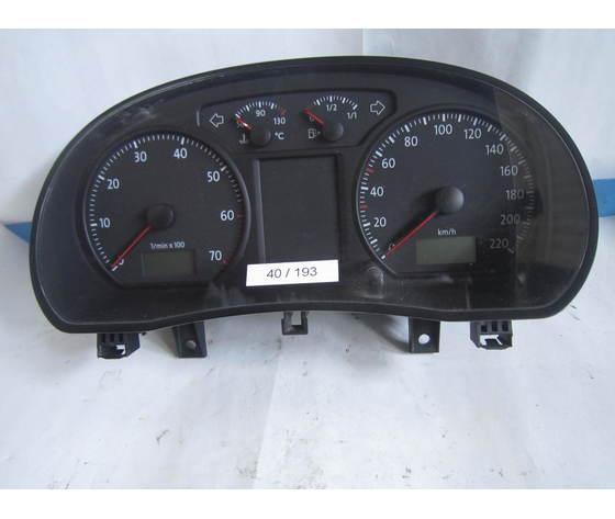 Diesel 40-193 Quadro Strumenti / Contachilometri Vdo 110 080 320 031a 110080320031a Volkswagen  Polo 1.4