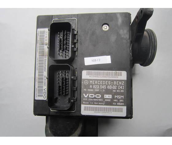 VDO 103/2 Centralina Motore  A 023 545 02 32 [4] 412.250/004/001  Msm 1.3 Hw 03.99 Mercedes Benz Classe  A