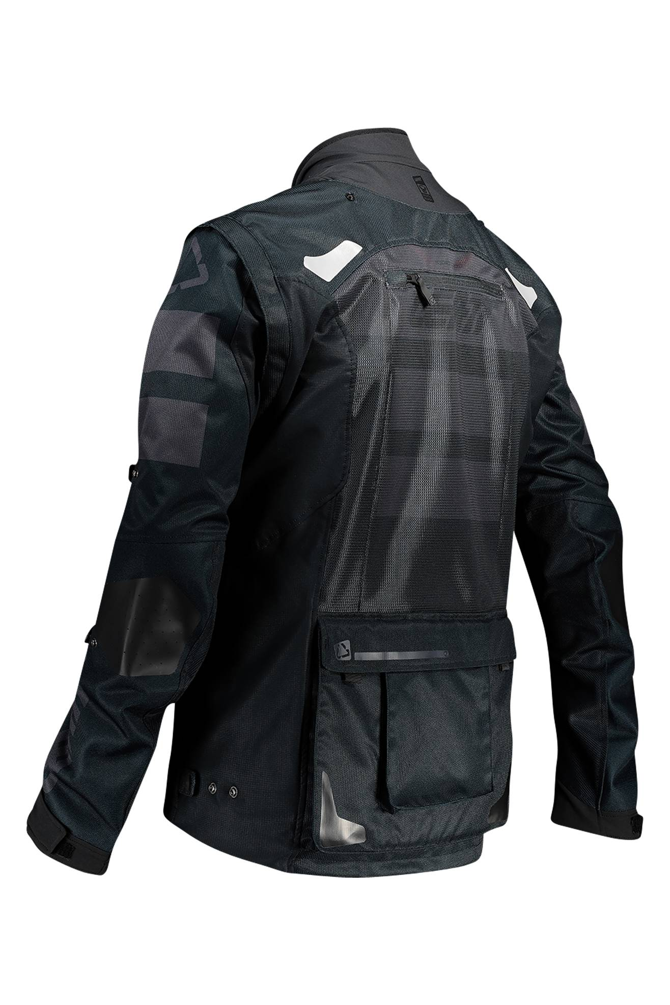 leatt giacca enduro  moto 4.5 x-flow nera