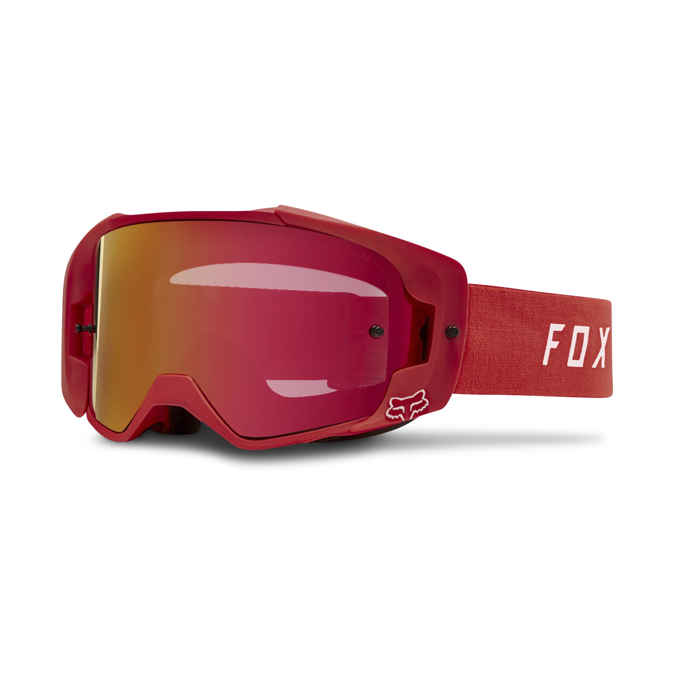 FOX Maschera Cross  Racing VUE Rossa