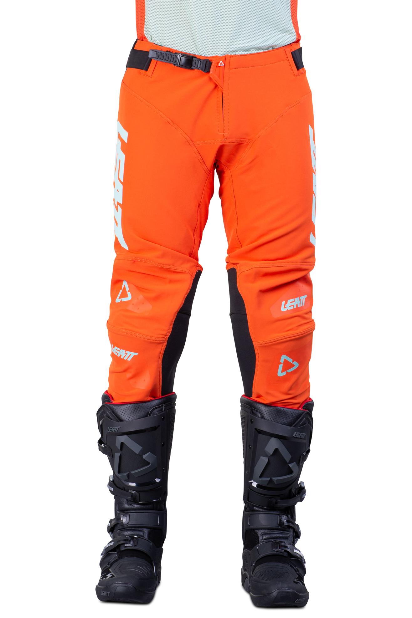 Leatt Pantaloni Cross  Moto 5.5 IKS Arancio