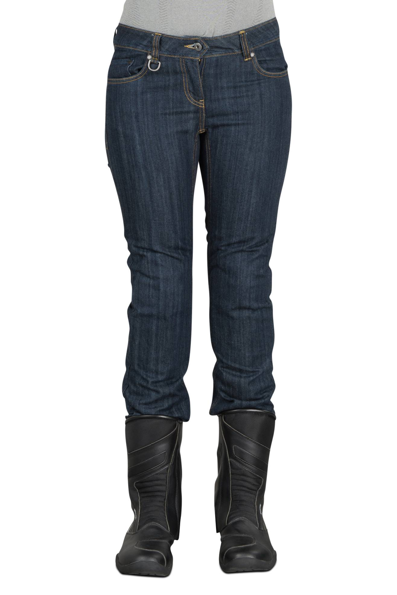 Spidi Jeans Donna  J-Flex Nero-Blu