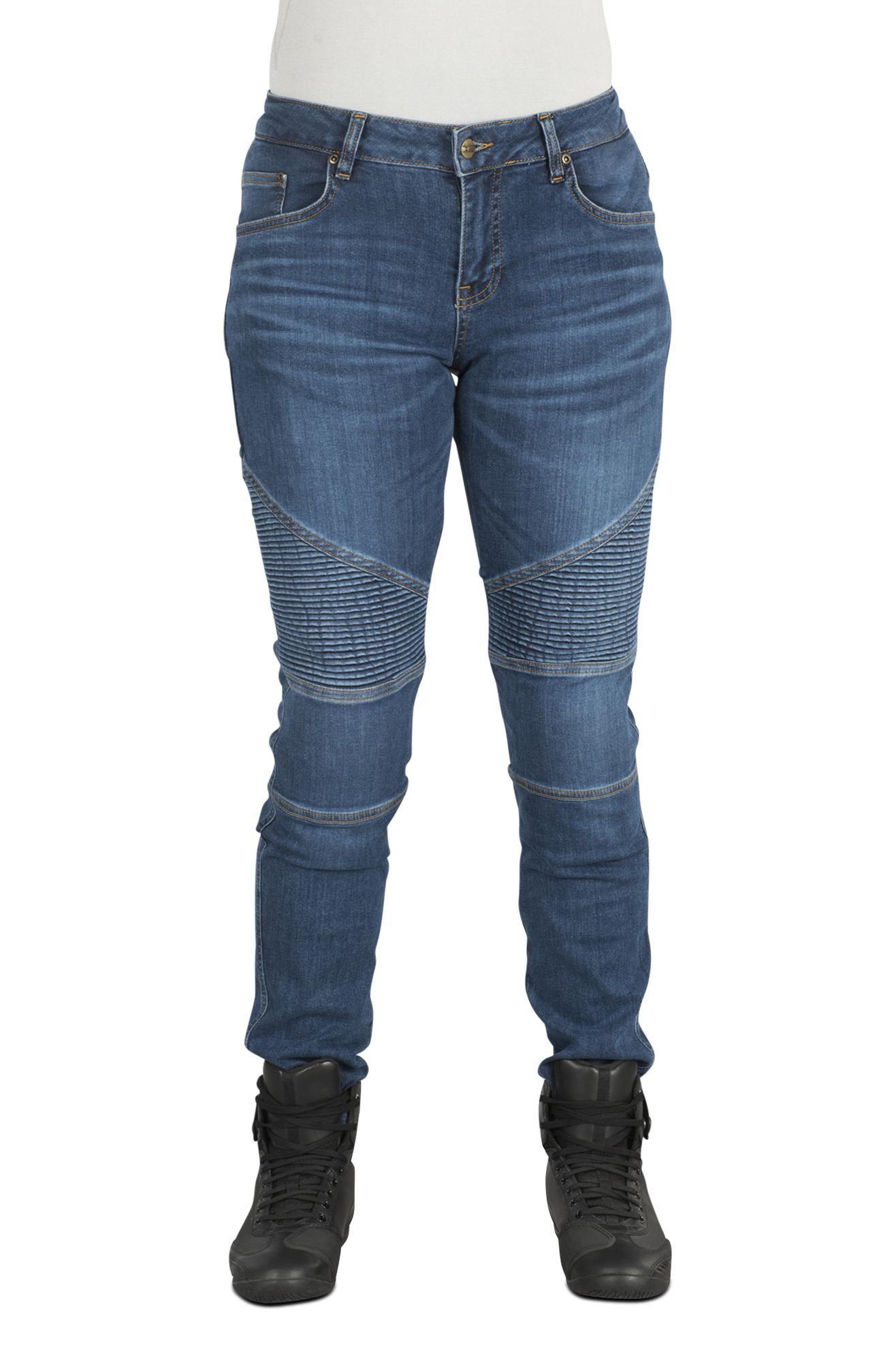 iXS Jeans Donna  Classic AR Moto Blu
