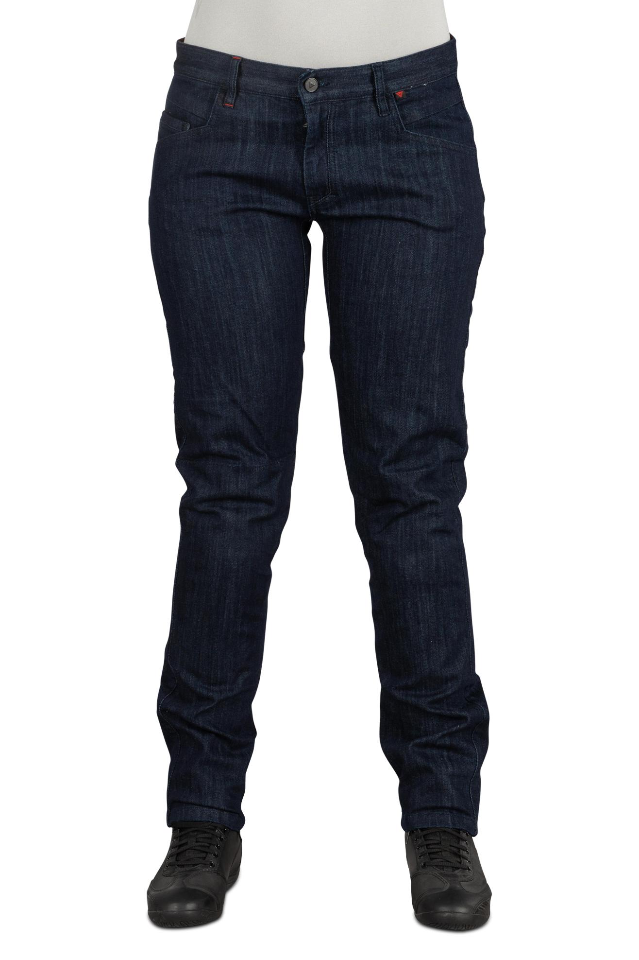 Dainese Jeans Moto Donna  Alba Slim Fit Blu Scuro