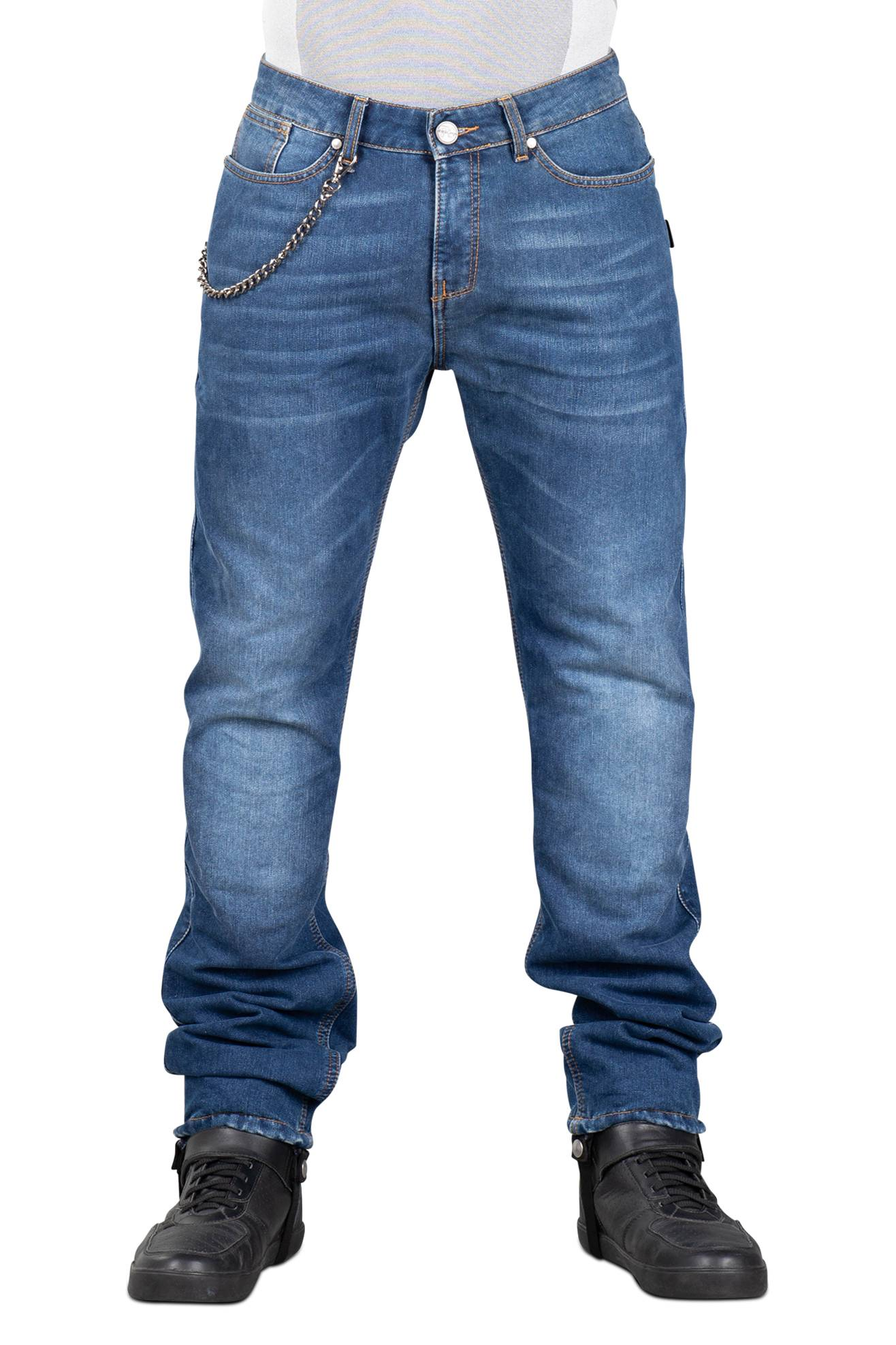 Segura Pantaloni Moto  Hopper Blu