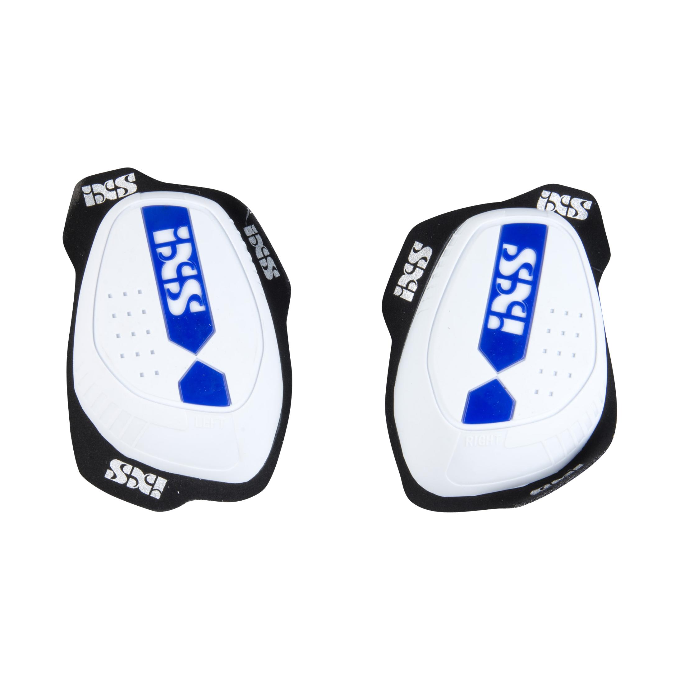 iXS Saponette Ginocchia  RS-1000 Bianco-Blu