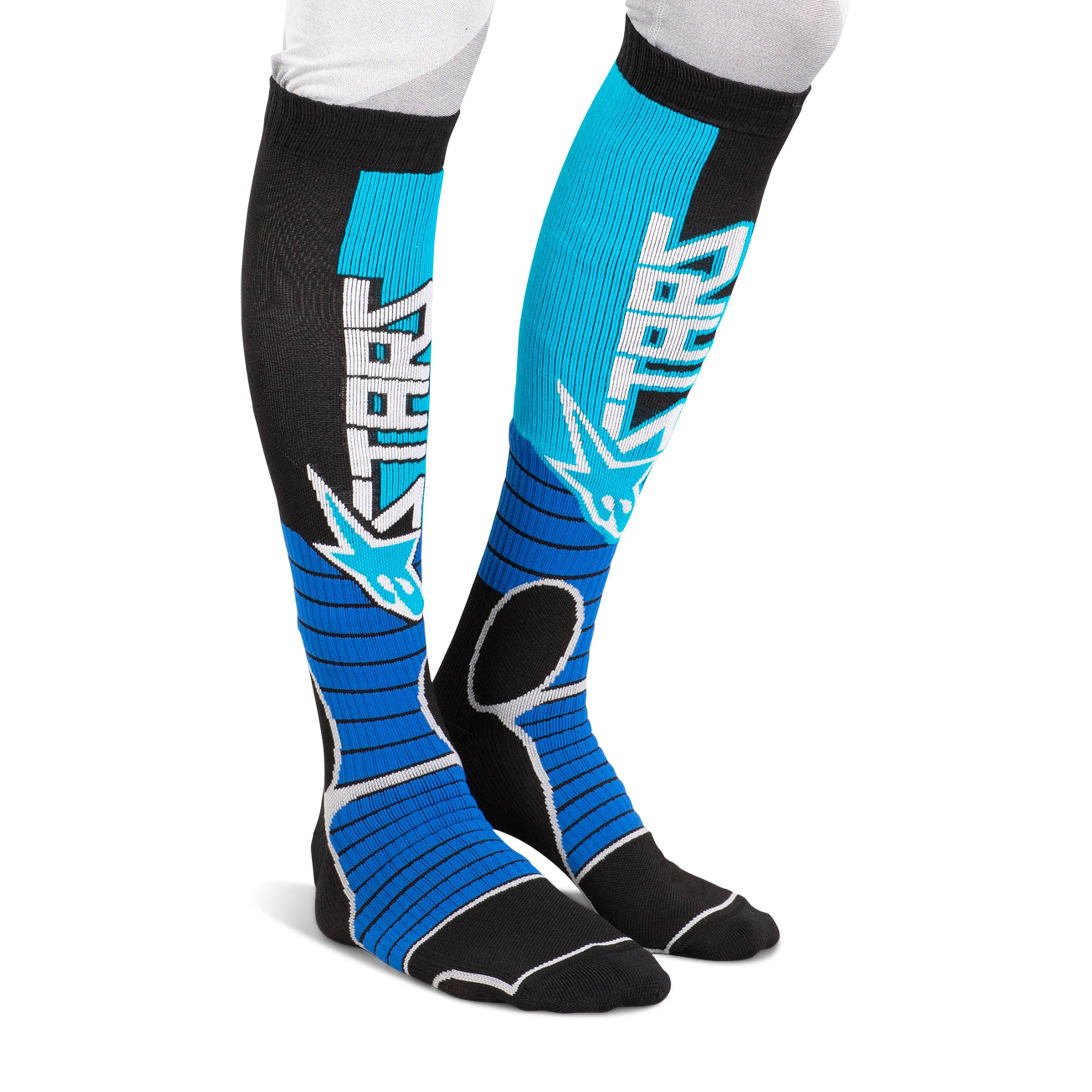 Alpinestars Calze Pro Blu-Nero