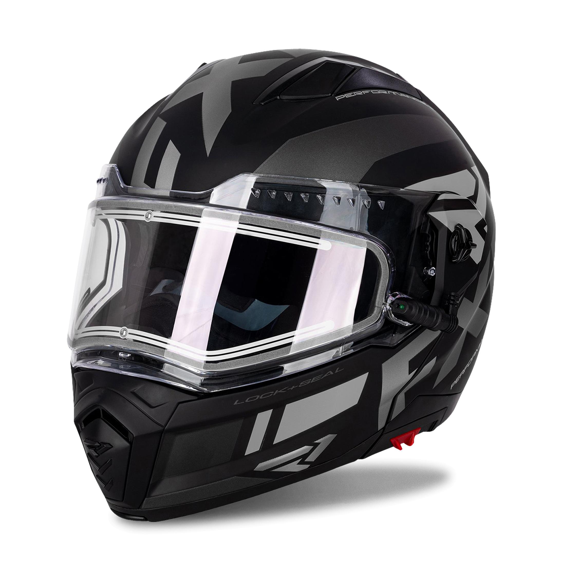 FXR Casco Maverick Modular Team E Black Ops