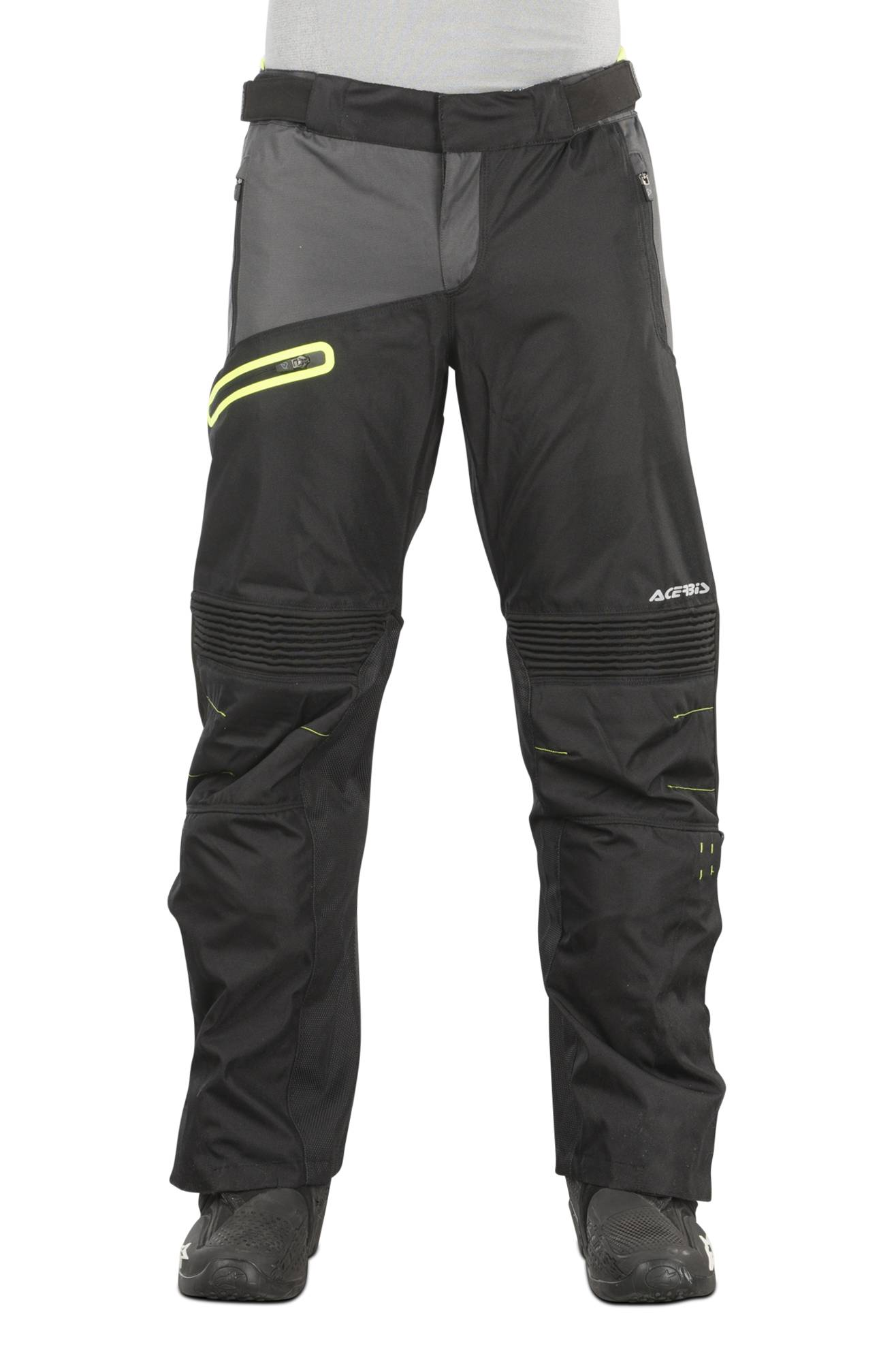 Acerbis Pantaloni Enduro  One Baggy Nero-Giallo