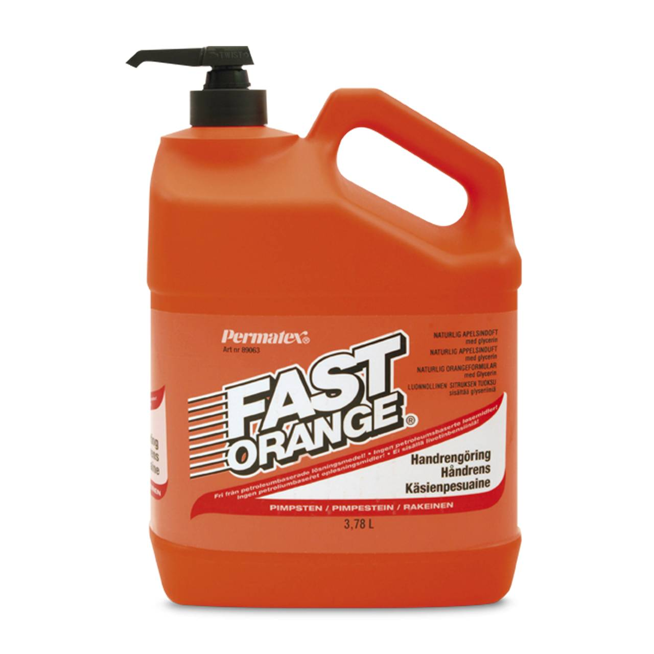 Permatex Detergente Mani  Fast Arancio 3,78L