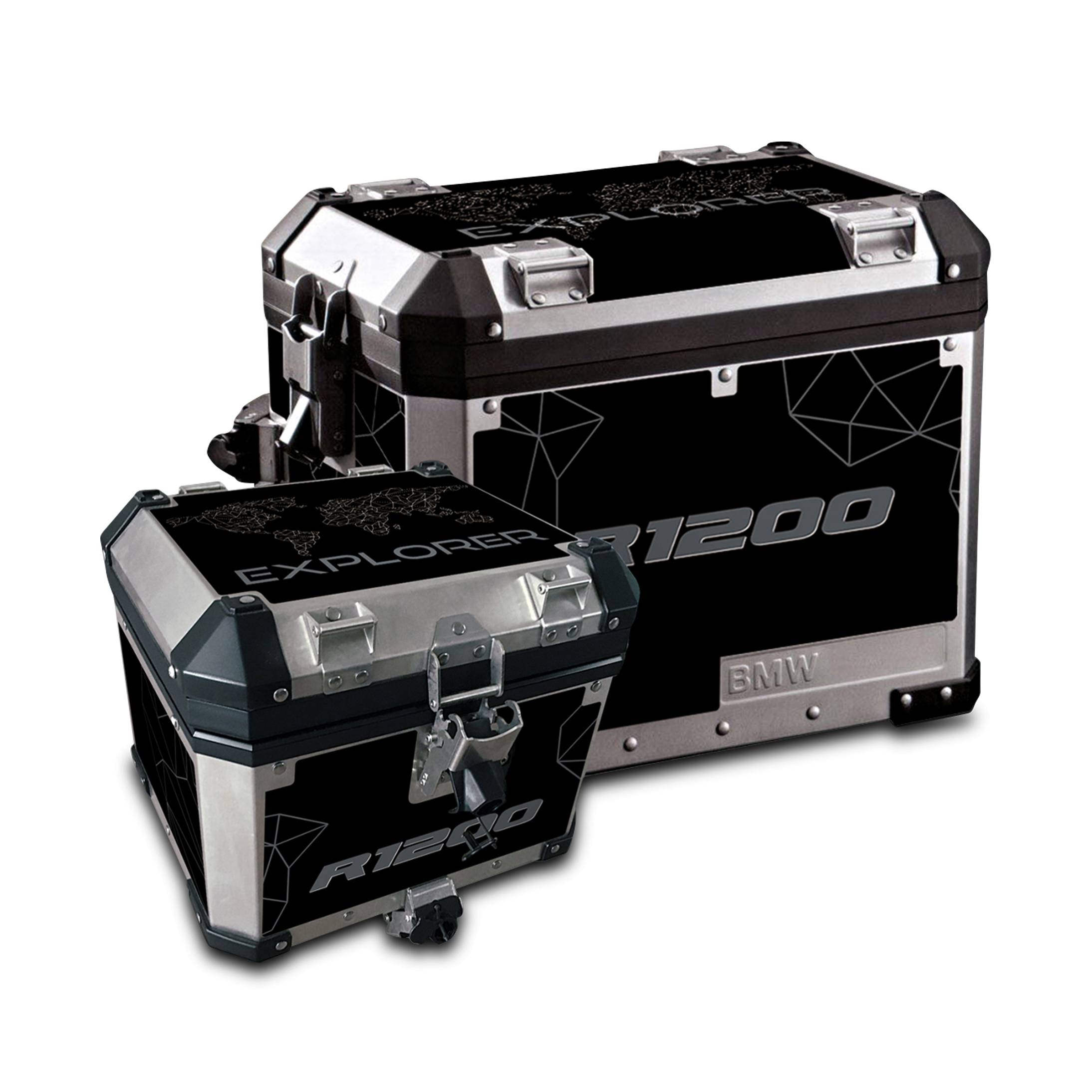 Blackbird Kit Adesivi  per Valigie in Alluminio Wild Frank