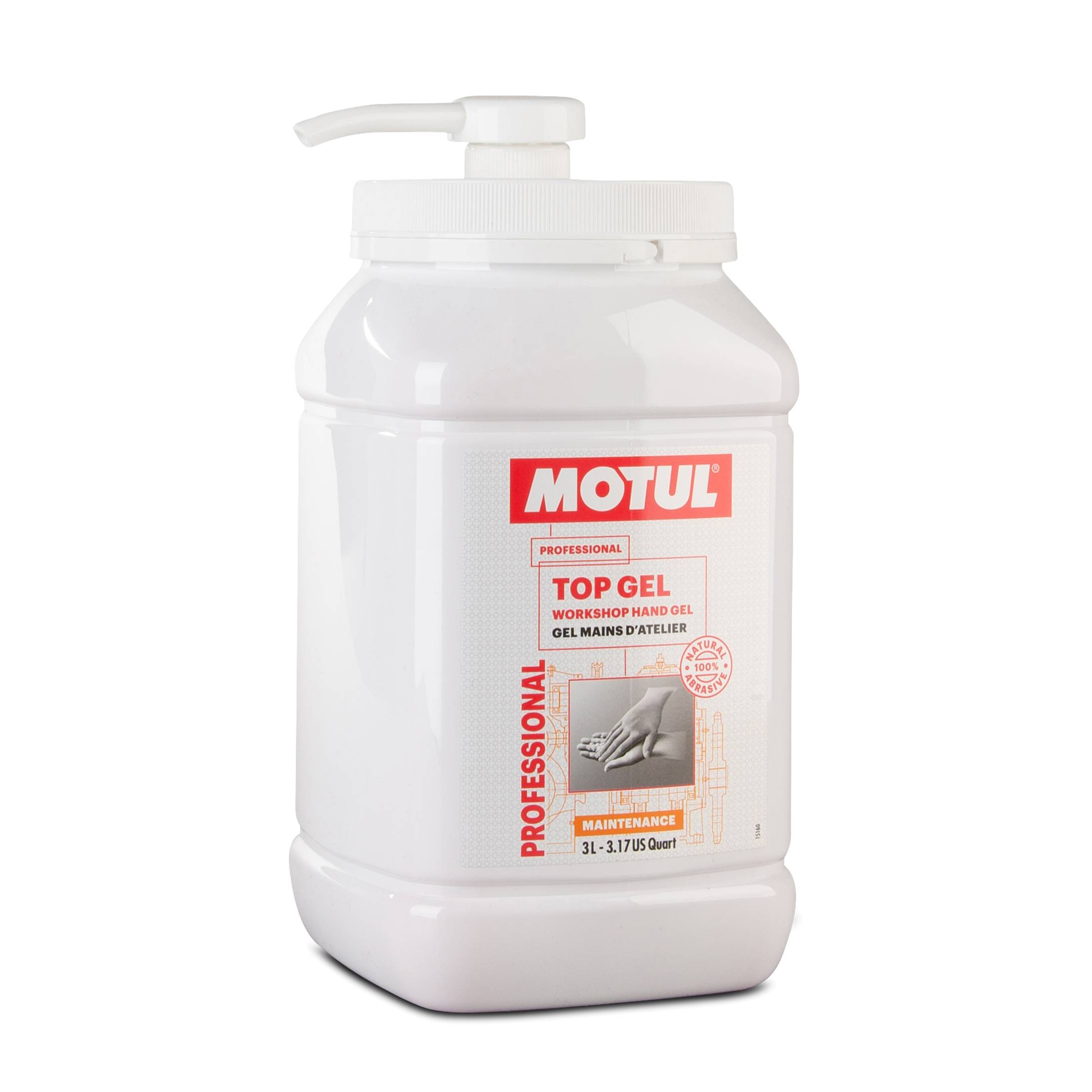 Motul Gel Mani  Top Gel 3L