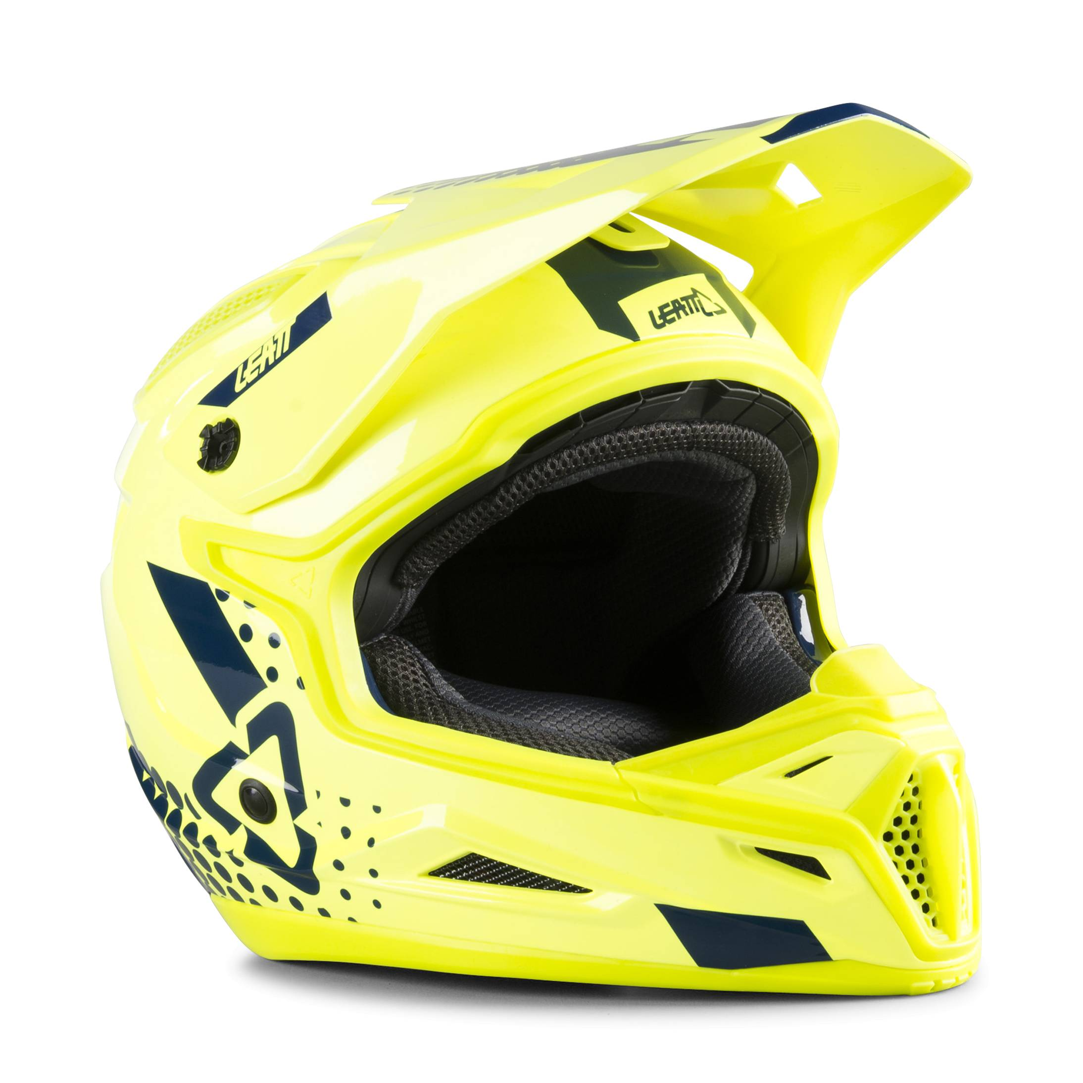 Leatt Casco Cross  GPX 4.5 V20.2 Verde Lime