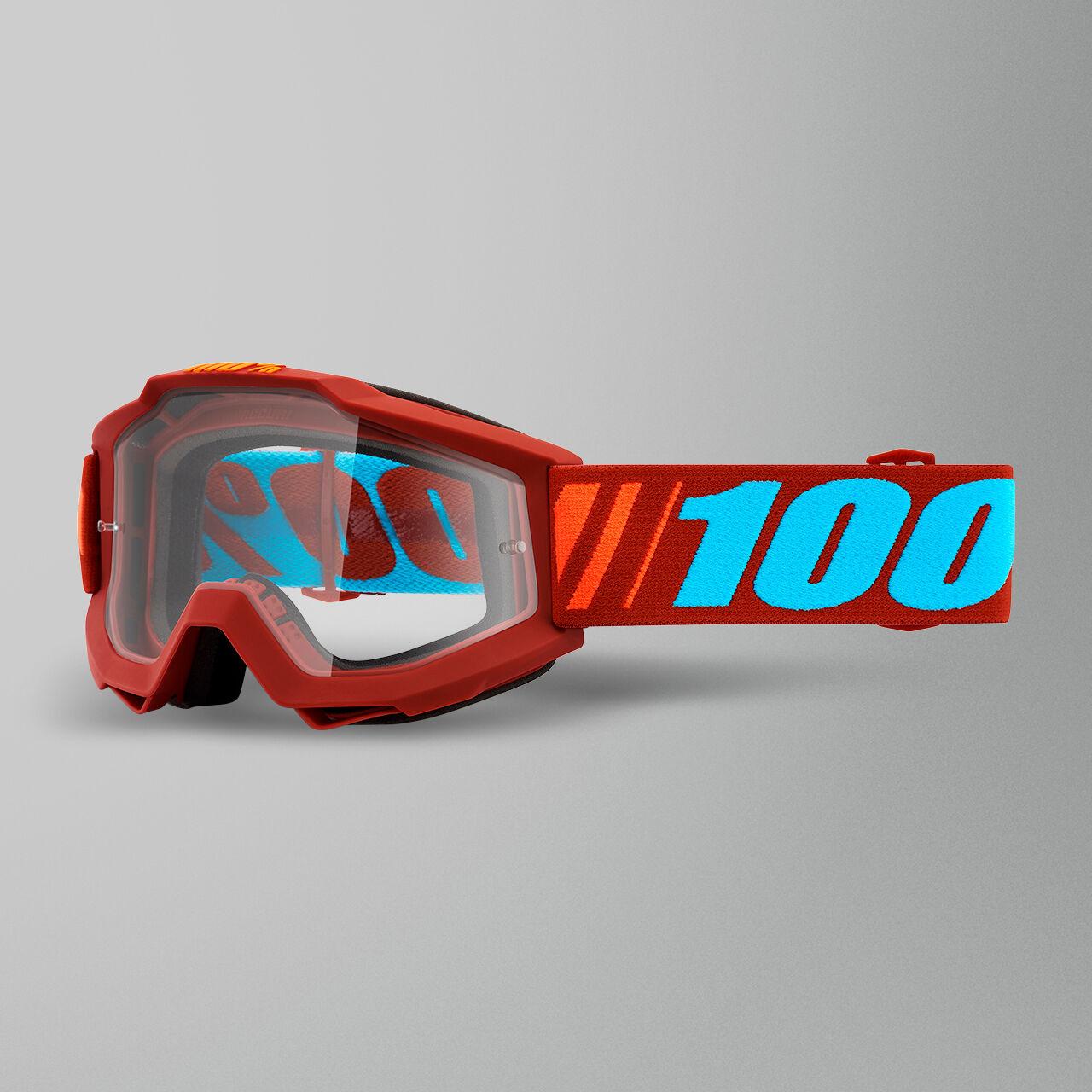 100% Maschera Cross  Accuri Dauphine Motocross