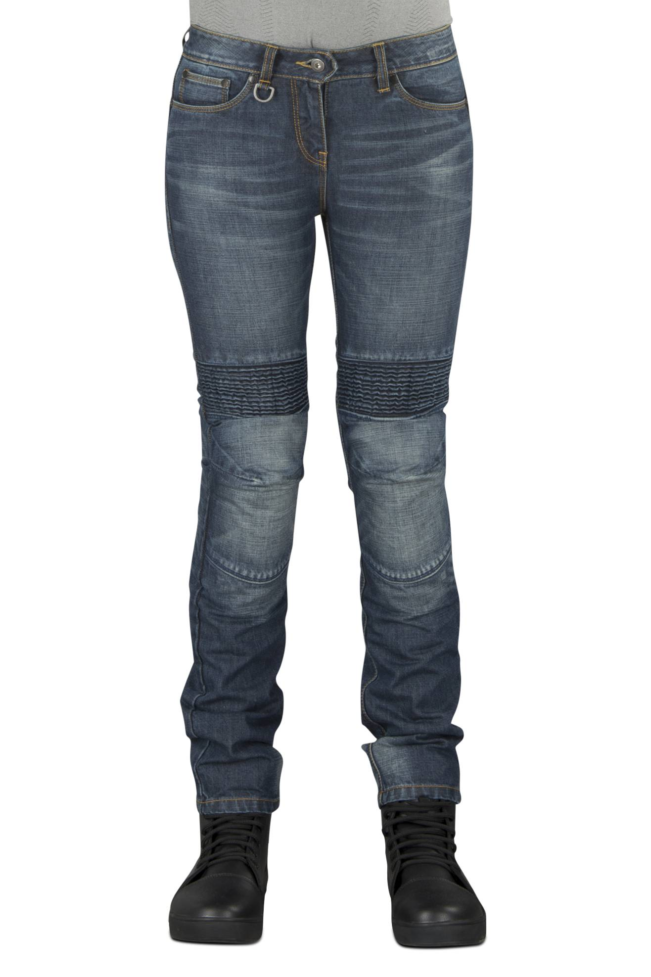 Spidi Jeans Donna  J&Racing Dark Used Blu
