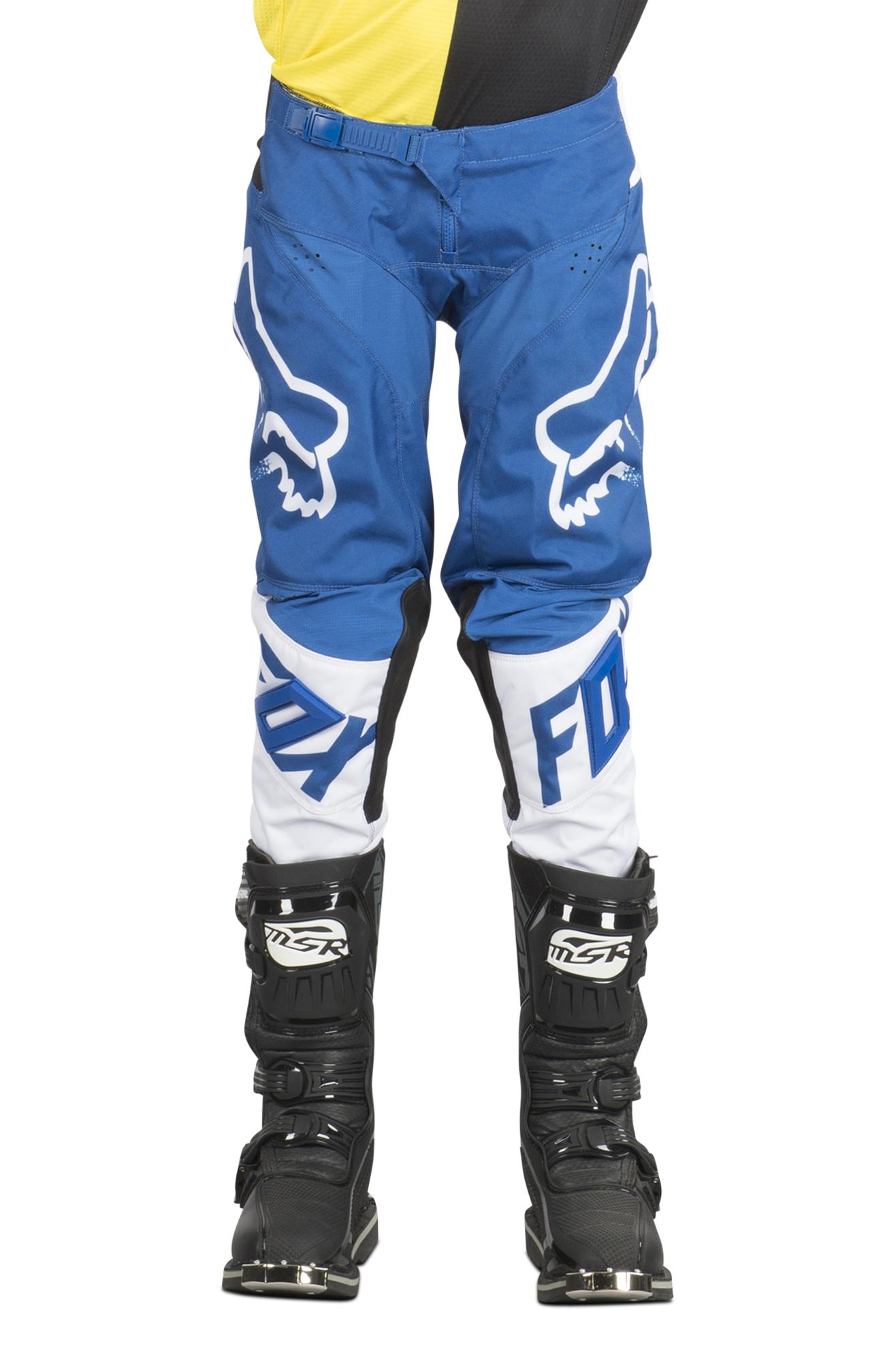 FOX Pantaloni Cross Bambino  Racing 180 Race Blu MX 18